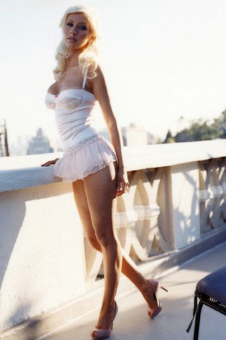 Christina Aguilera Hot Mini Skirt 3 by maxmachina on ...