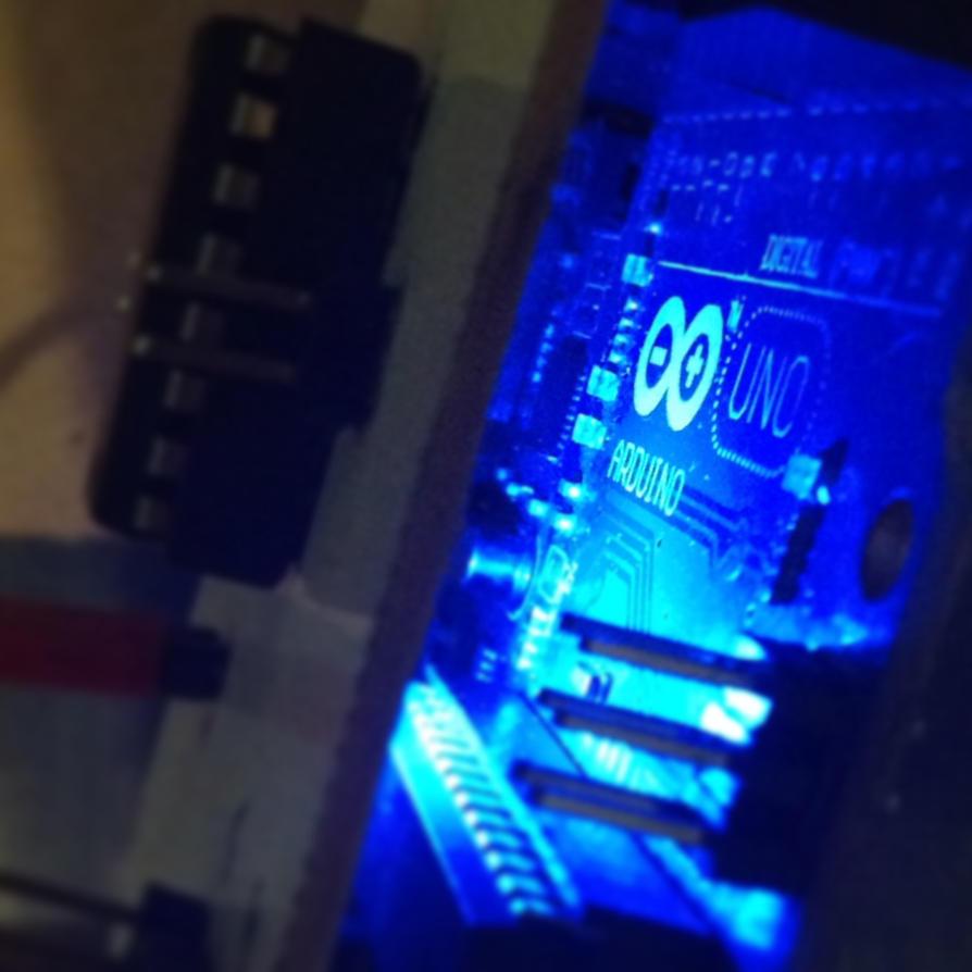 Arduino uno blue by ikoteros on deviantart