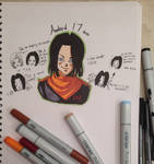 Android 17 practiceee by dbz-senpai