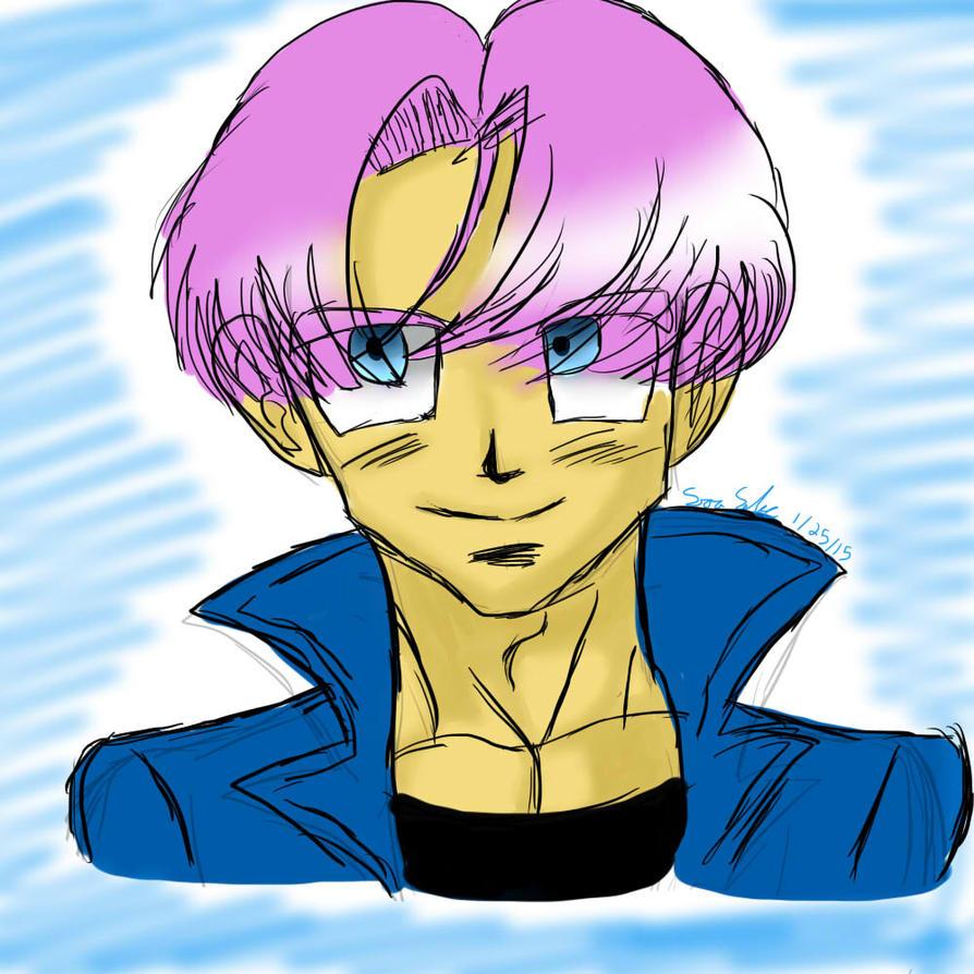Mirai Trunks Sketch XP By Dbz-senpai On DeviantArt