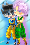 Trunks and Gotennn~