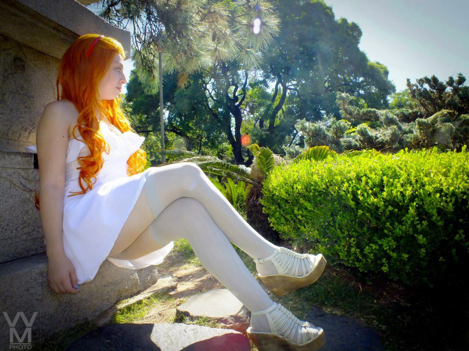 Nami New World White dress Cosplay by InfirnaPricessLolita