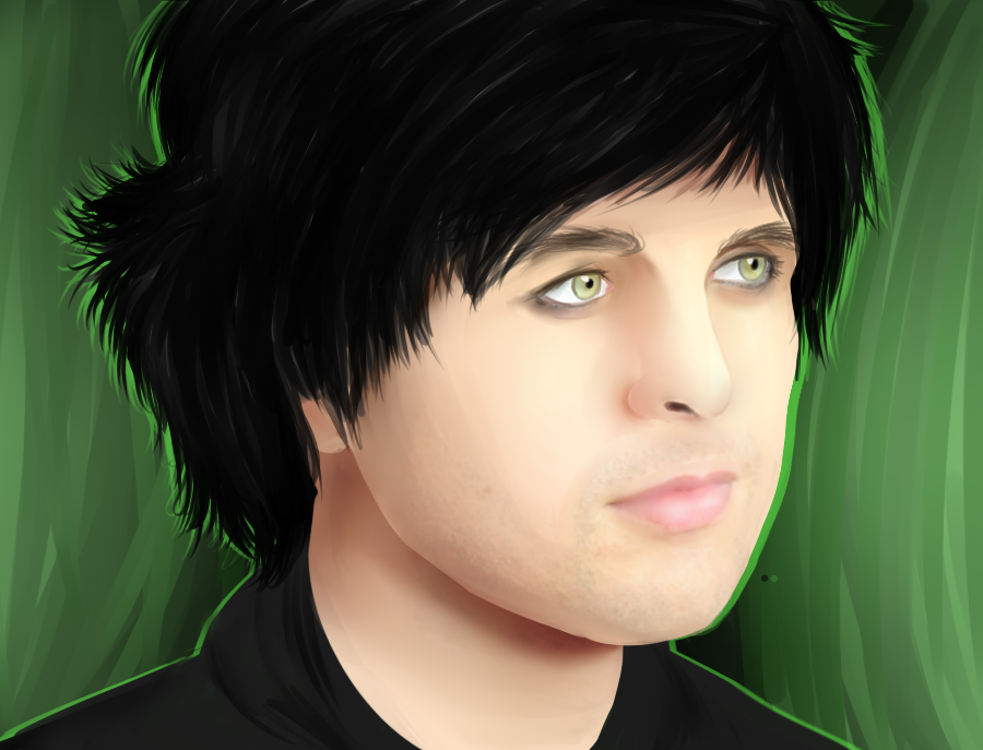 Billie Joe Armstrong by snooziewoo