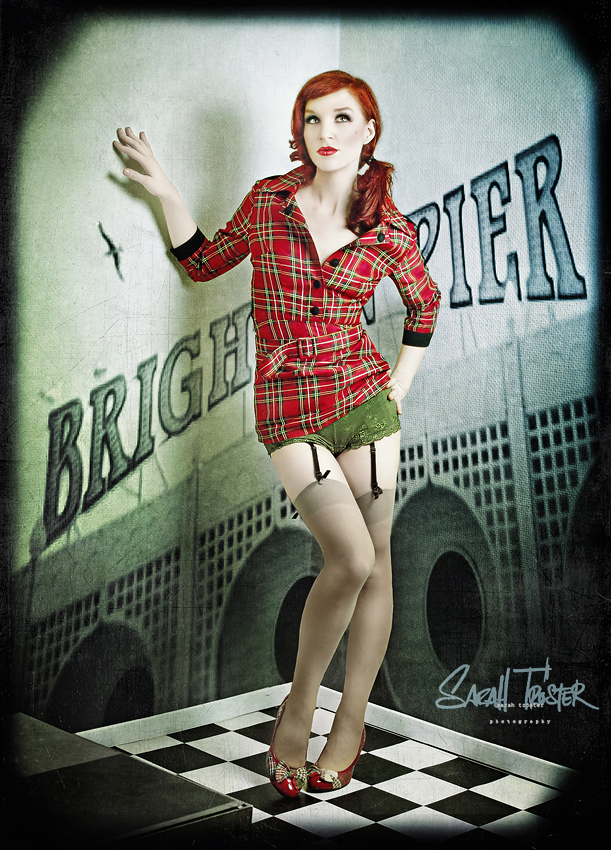 brighton pier by snottling1