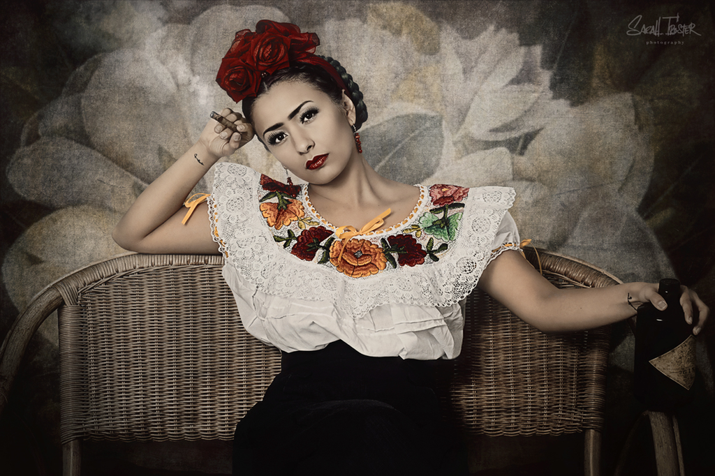 Homage to Frida Kahlo no.4 by snottling1