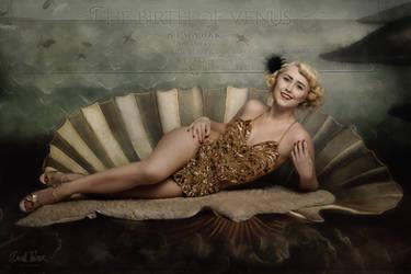 The birth of venus -vintage showgirl style- no.2