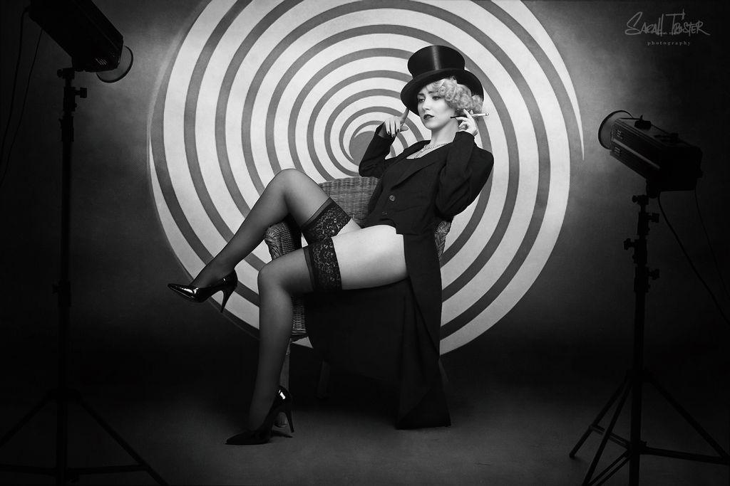 dark cabaret- with Paula Walks no.2 by snottling1