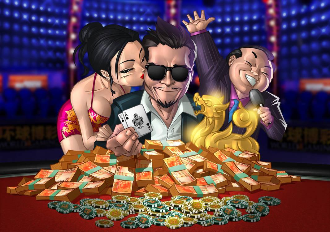 Poker Tournament Winner by mrrogers4566