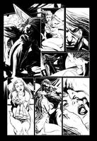 Dracula page 02 Pencils by mrrogers4566