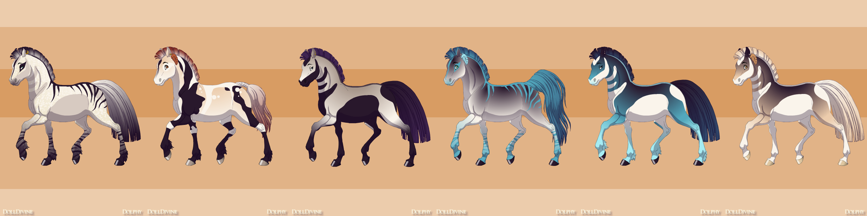 5 Points!!!Horse Adopts 10 CLOSED by Akssel-Adopts