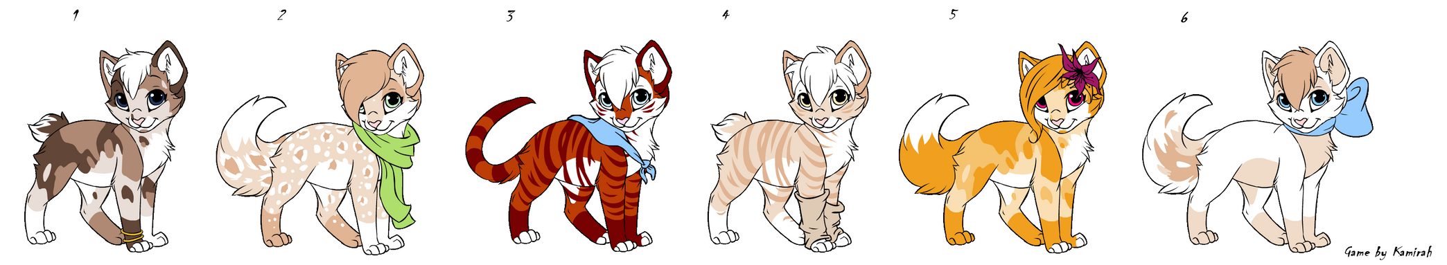Kitten Point Adopts Batch 10 OPEN by Akssel-Adopts