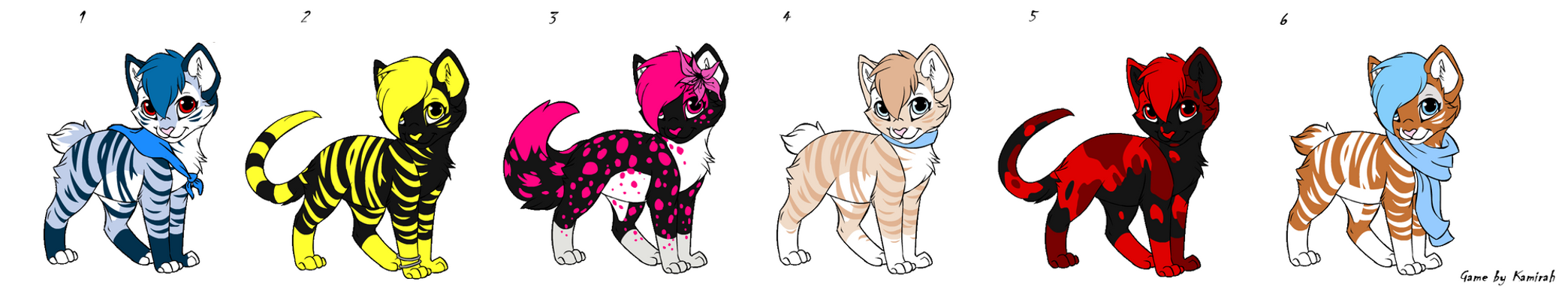 Kitten Point Adopts Batch 11 OPEN by Akssel-Adopts