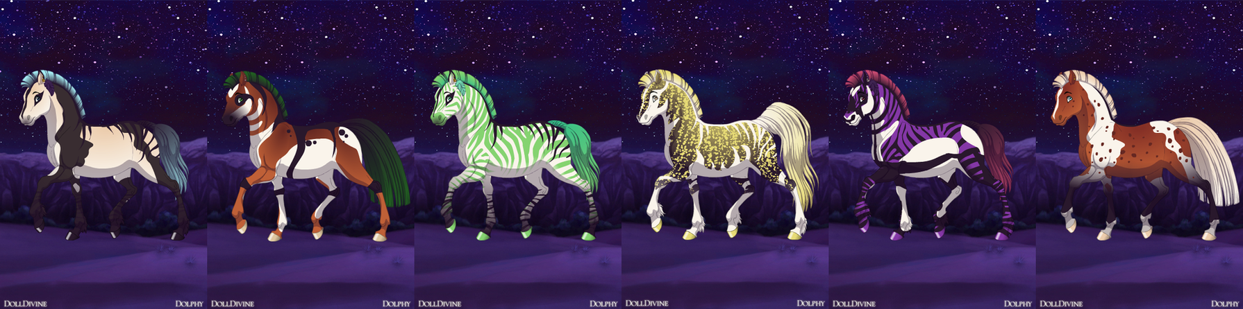 Horse Adopts 12 OPEN by Akssel-Adopts