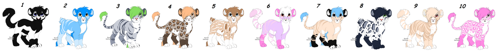 Cub Point Adopts Batch 14 OPEN by Akssel-Adopts