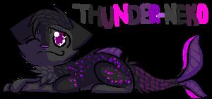 :PC: Thunder-Neko Banner by campfyre