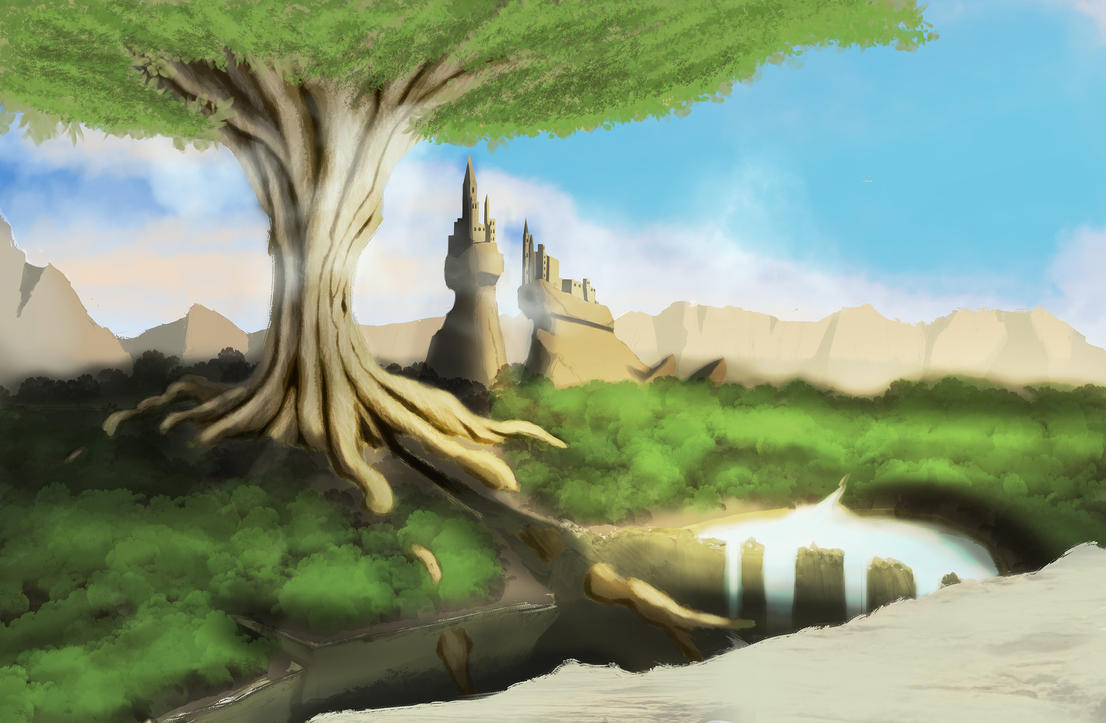 The city under the tree. by Geowe