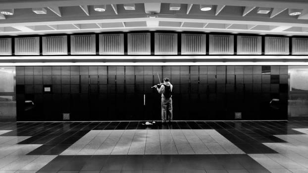 The Violinist by djniks97