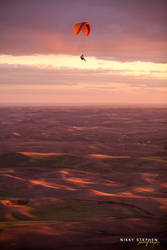 Paragliding in the Palouse by djniks97