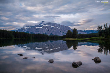 Two Jack Lake, Banff National Park by djniks97