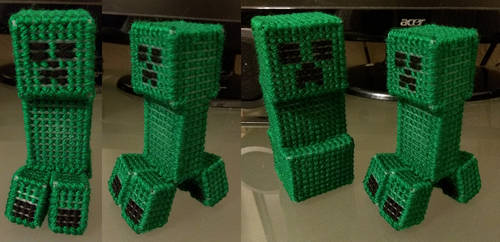 Minecraft Creeper v3 by Frylock72