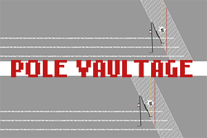 Pole Vaultage! for TIGSource Sports competition by goshki