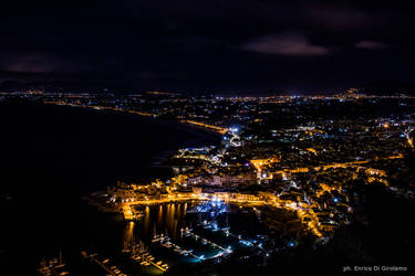 Castellammare Del Golfo by night