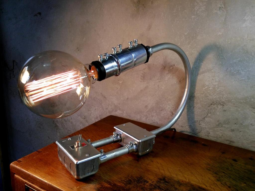 Netindustrial Modern Lighting : Industrial-lamp-modern-steampunk-lighting by novemberreserve on ...