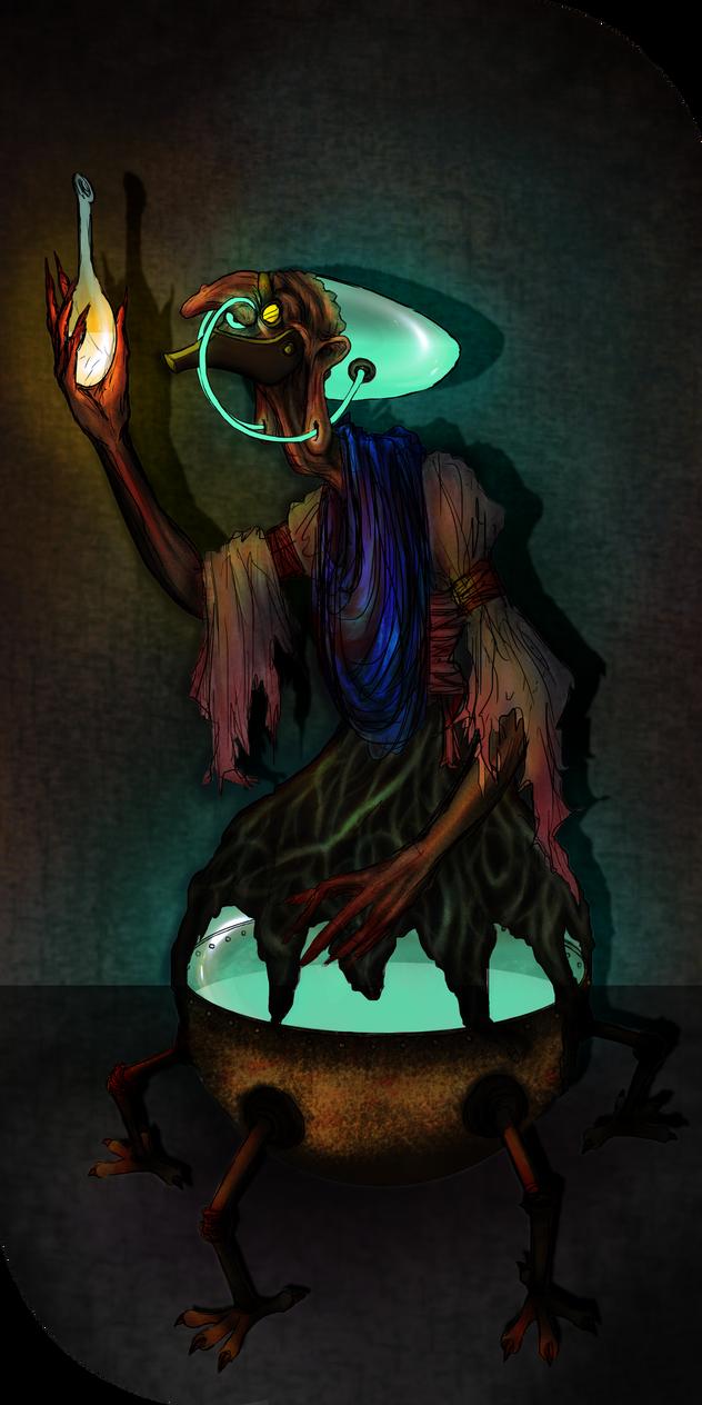 Steampunk Witch by Veni-Scripsi-Vici