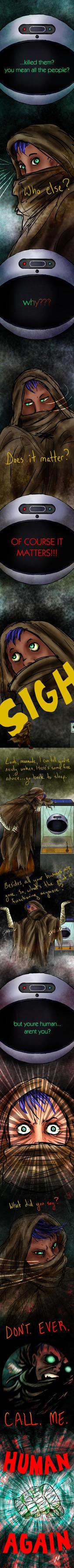 Memorbal: Page 2 - Not Human
