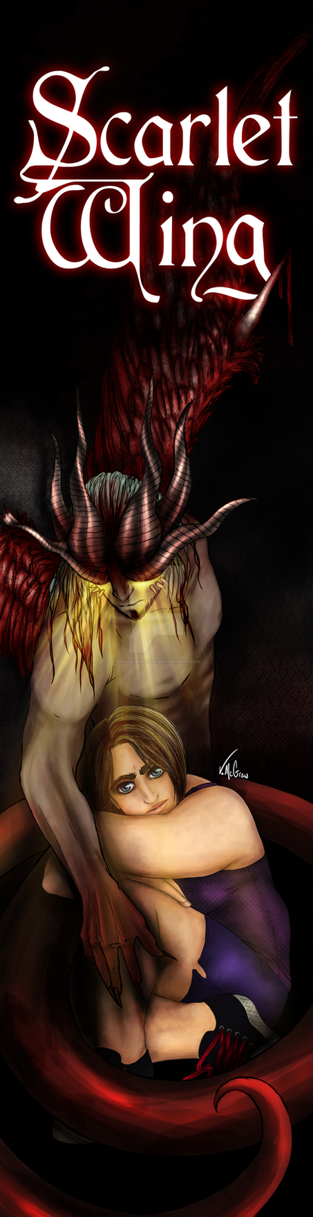 Scarlet Wing: Cover
