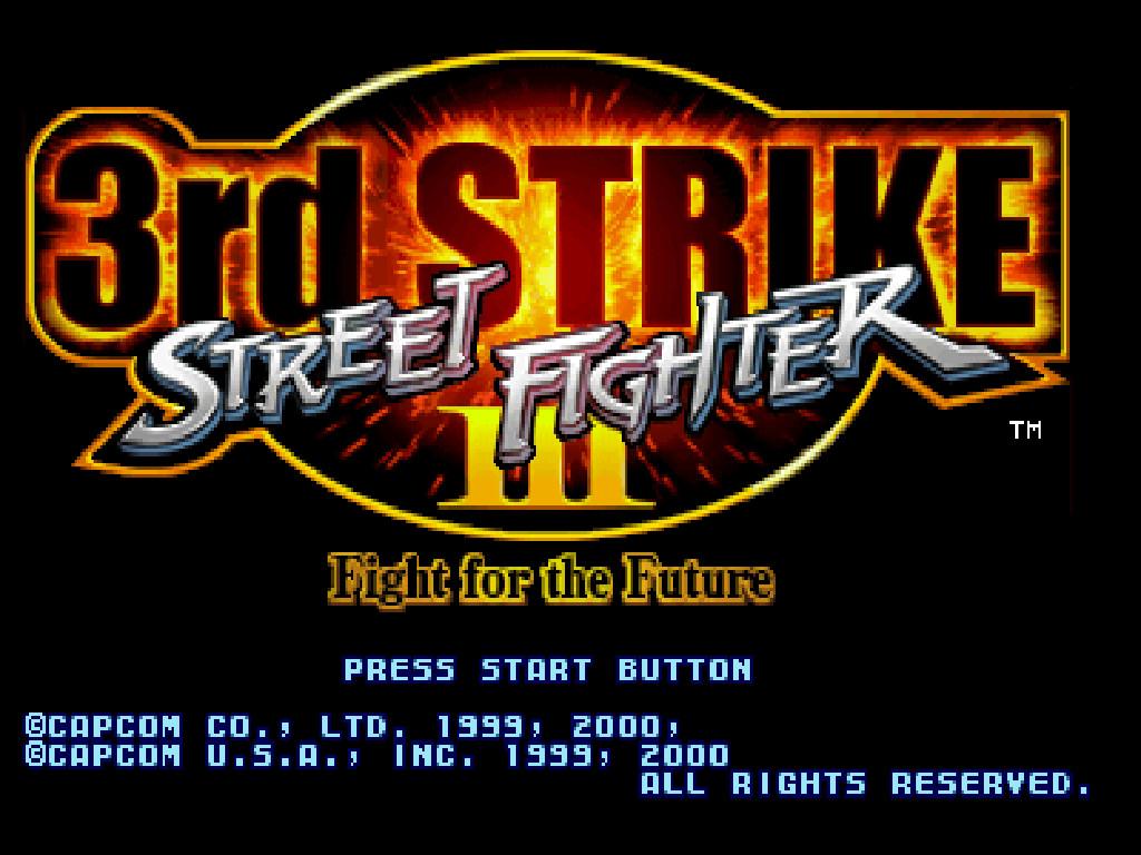 street fighter III 3rd strike by metal-slug-233