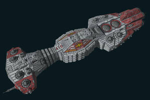 SBF Minotaur by Scifiwarships