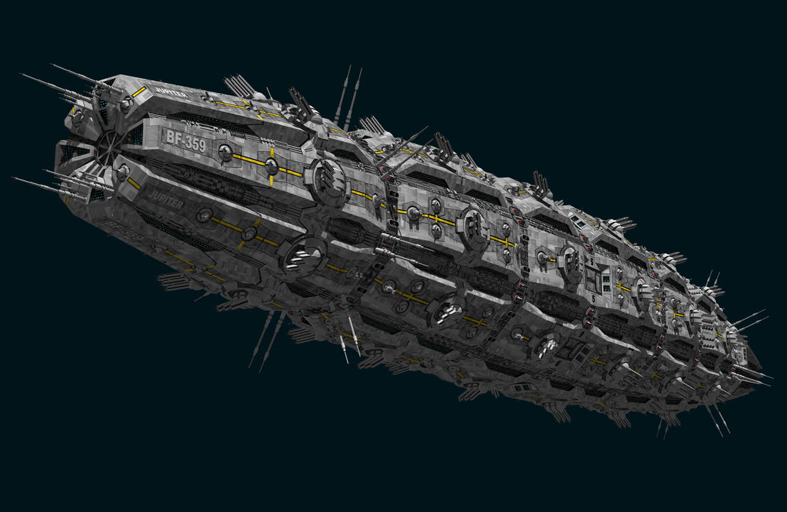 SBF Jupiter by Scifiwarships