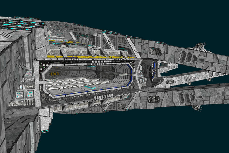 Praemos station by Scifiwarships