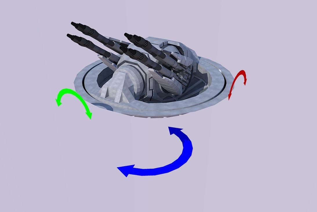 SBF Centauri main gun by Scifiwarships