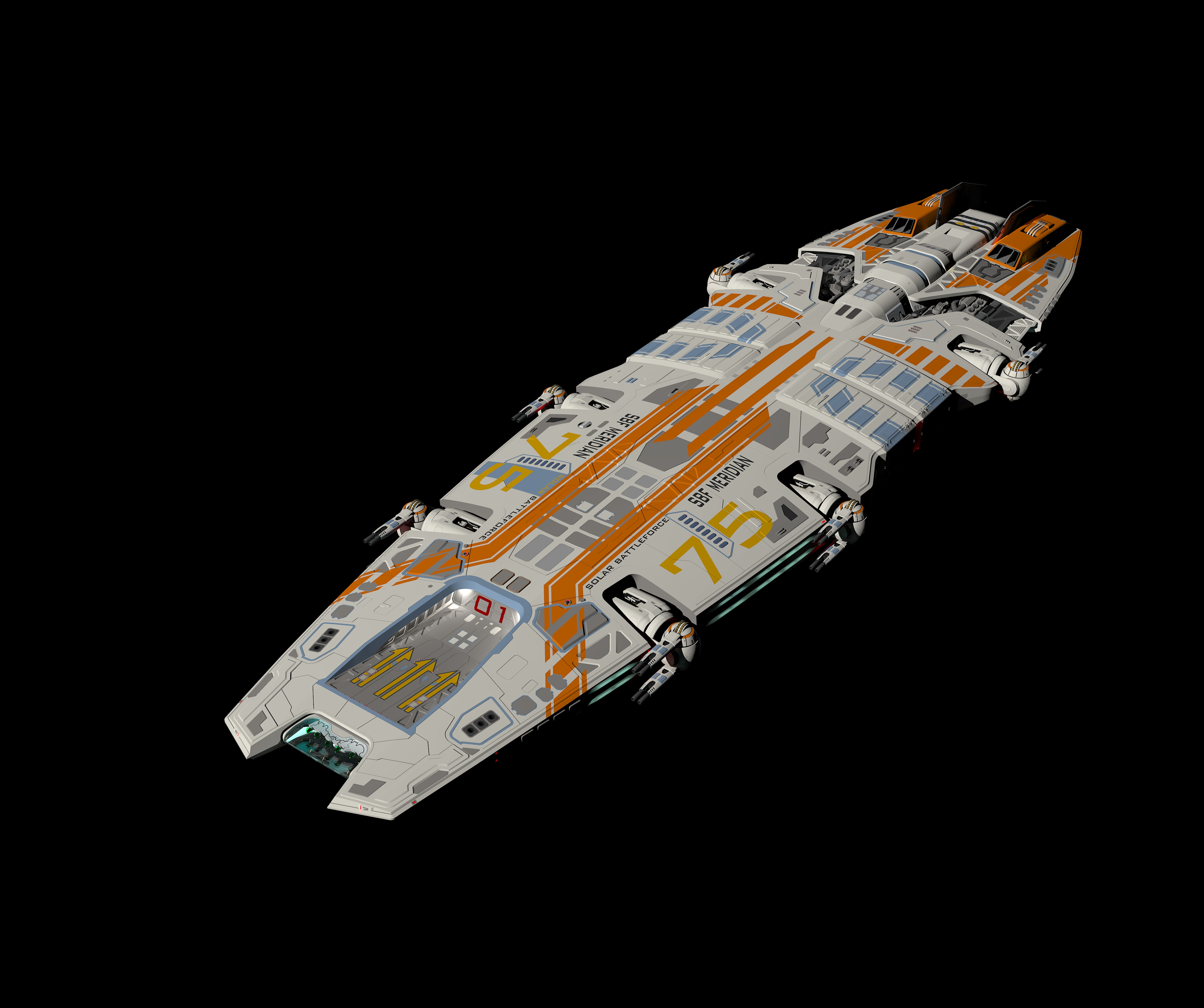 SBF Meridian Kerky render test2 by Scifiwarships