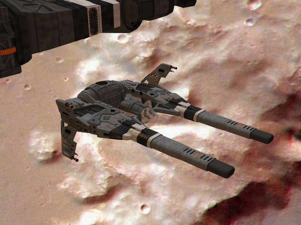 SBF Cressida  secondary weapons deployment 5 by Scifiwarships
