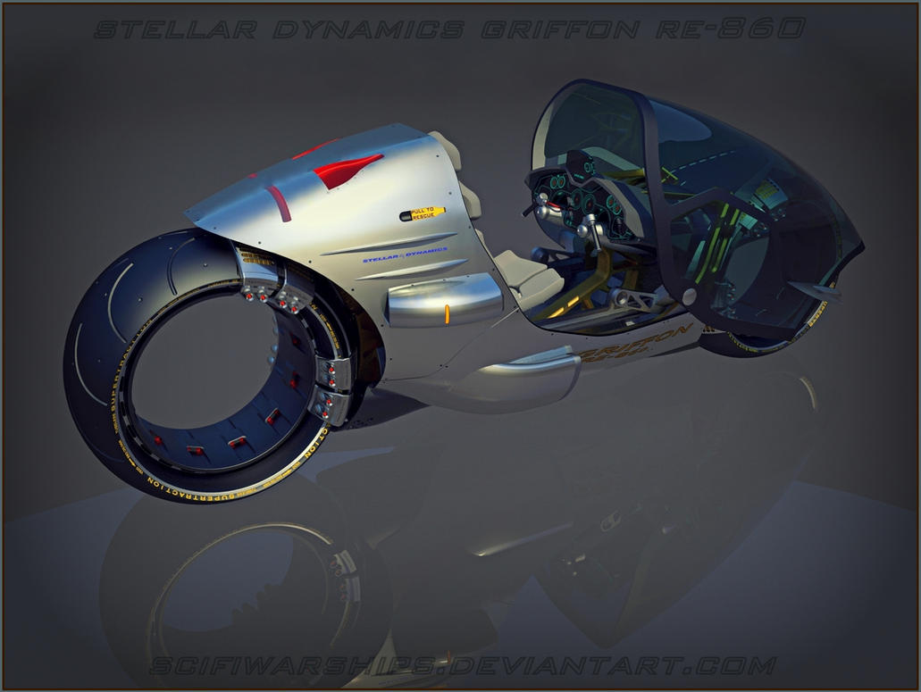 Stellar Dynamics Griffon RE-860 3 by Scifiwarships