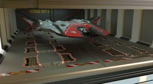 Tac Bat  In Launch Bay