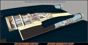 OFFSHORE GROUNDEFFECT RACER reactor bay