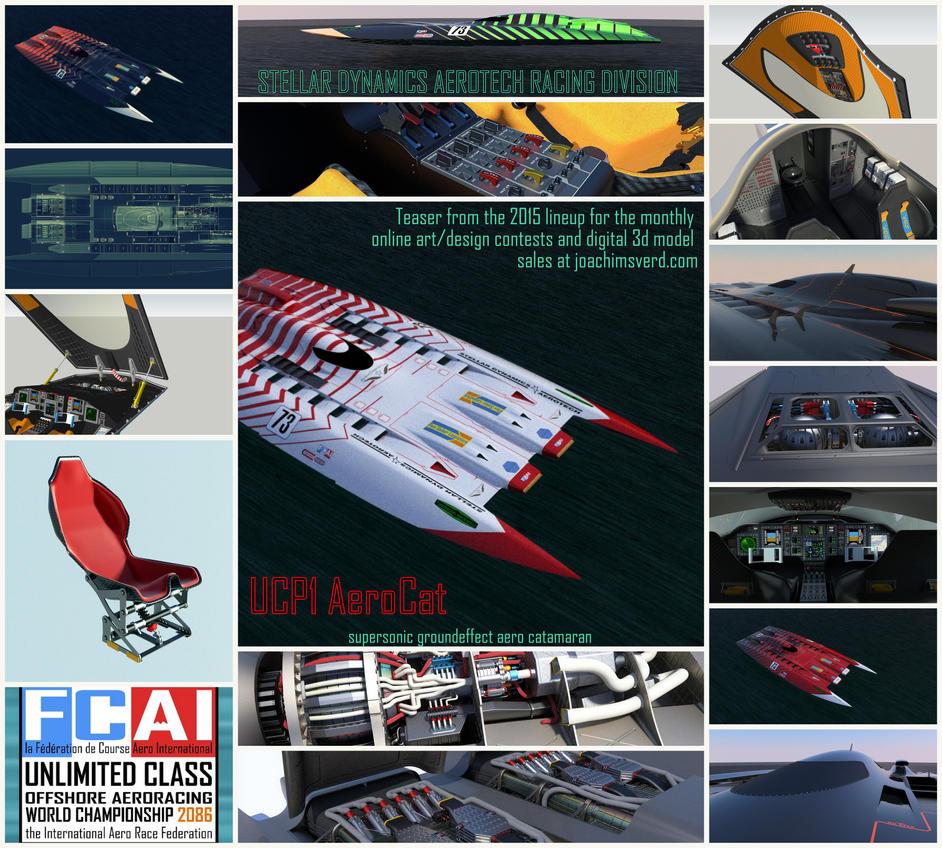 Aerocat Teaser Poster by Scifiwarships