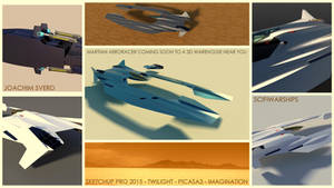 Martian Aeroracer1 by Scifiwarships