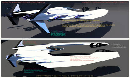 Martian Aeroracer3 by Scifiwarships