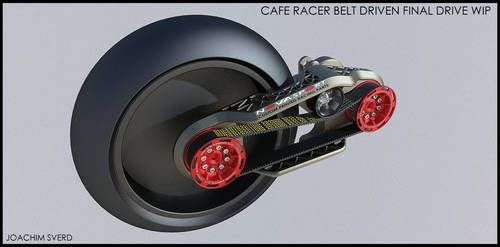 Cafe Racer Final Drive Wip by Scifiwarships