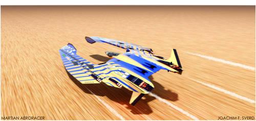 MARTIAN AERORACER No 23 by Scifiwarships