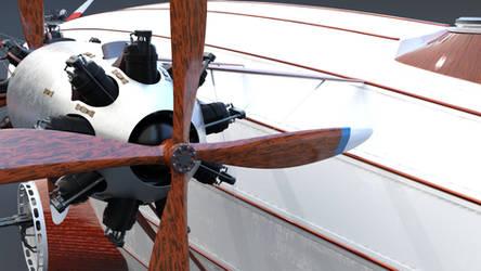 Airship engine detail