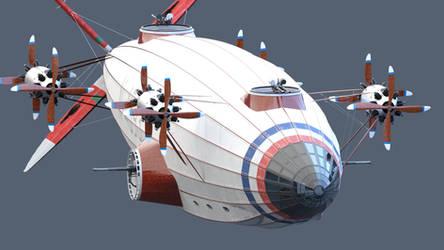 Airship ortho shot