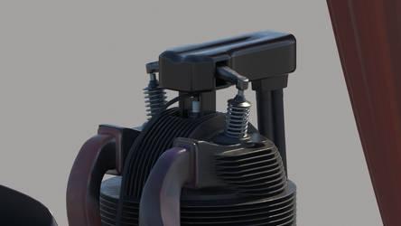 Radial Engine Test1