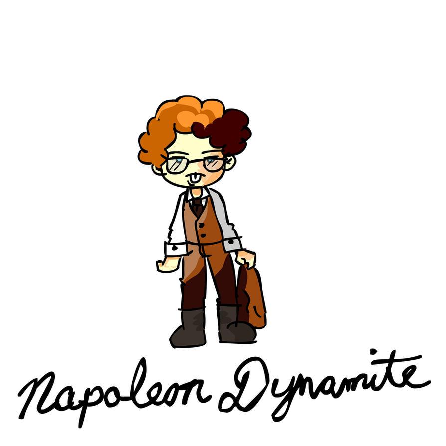 napoleon dynamite cartoon ver by luisvalentine on deviantart rh luisvalentine deviantart com