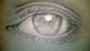 Stock: 'Eye photo' Pencil Version